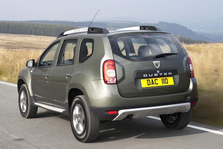 Dacia Duster 2015 rear