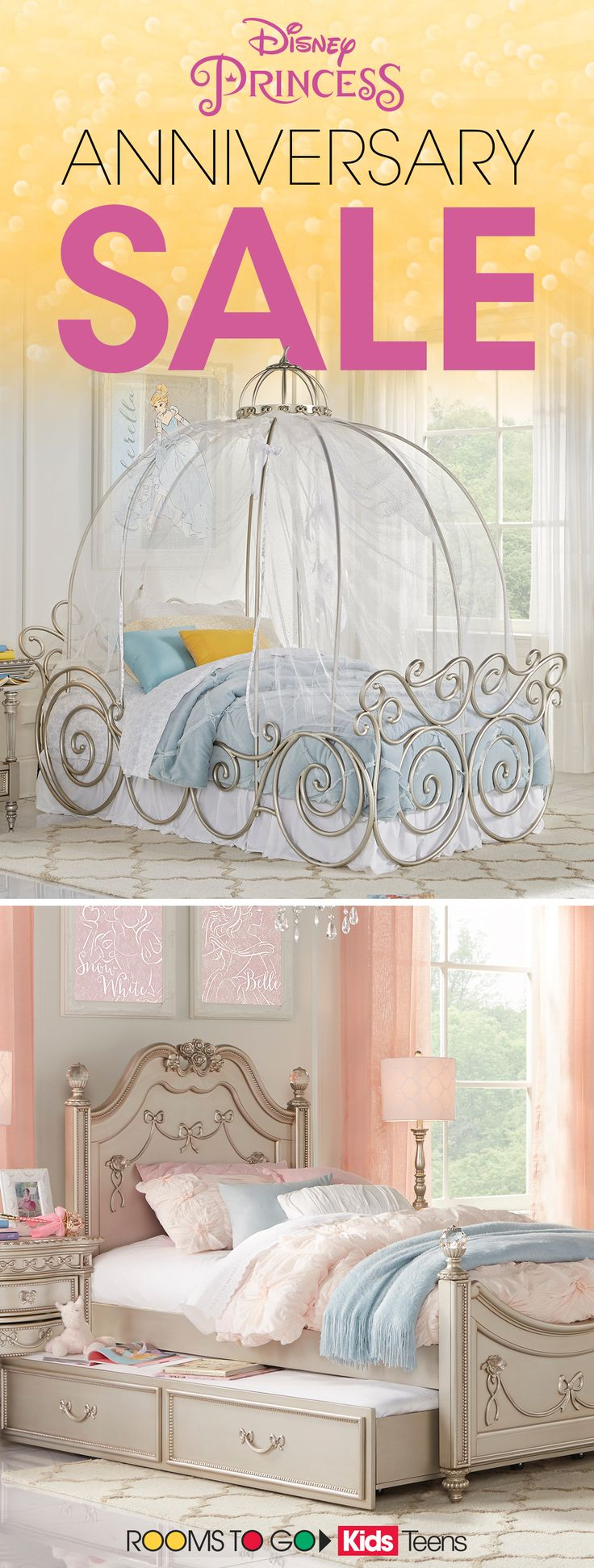Give your princess the room of her