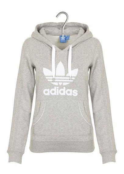 E-shop Adidas - Sweat à Capuche Sérigraphié Gris Adidas pour femme sur Place des tendances Groupe Printemps. Retrouvez toute la collection Adidas pour femme.
