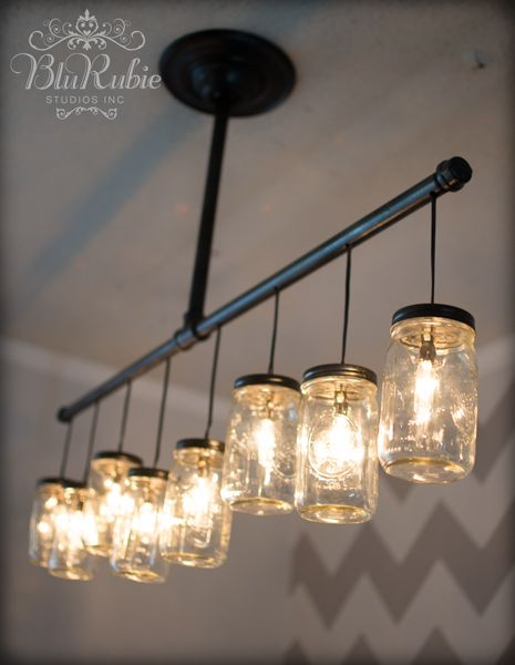 most awesome upcycle furniture | 25 Creative Ways to Light up Mason Jars - Upcycled Treasures