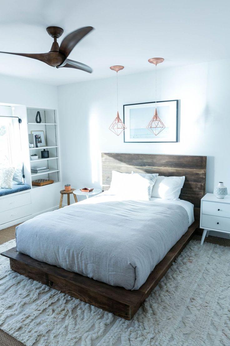 Minimalist bed frame design - Diy Reclaimed Wood Platform Bed