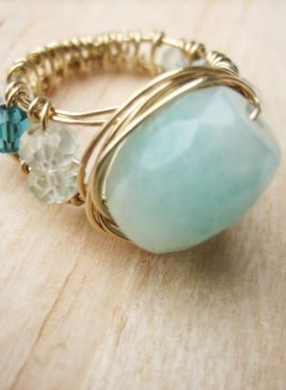 Wire wrapped ring inspiration