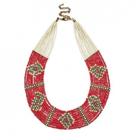 Sole Society - navajo beaded necklace