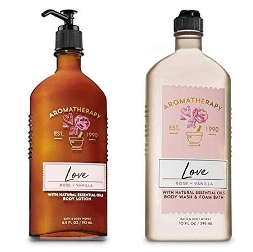 Bath And Body Works Aromatherapy Love Rose Vanilla Du Https