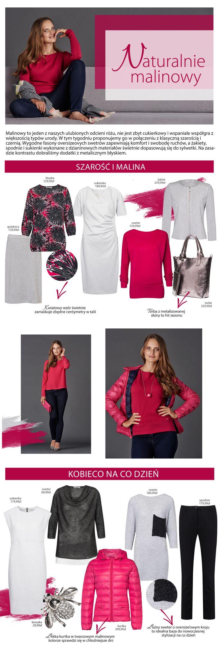 #quiosque #quiosquepl #naszainspiracja #malinowy #skirt #bag #dress #blouse #ootd #fashion #polishfashion #polishbrand #new #collection #aw1617