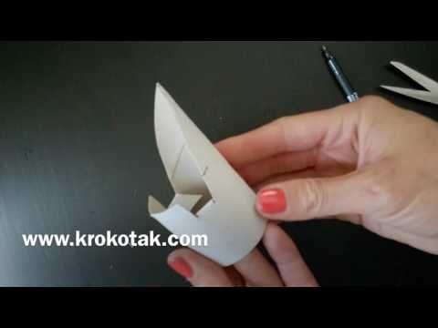 How to make phone holder from toilet paper rolls | krokotak