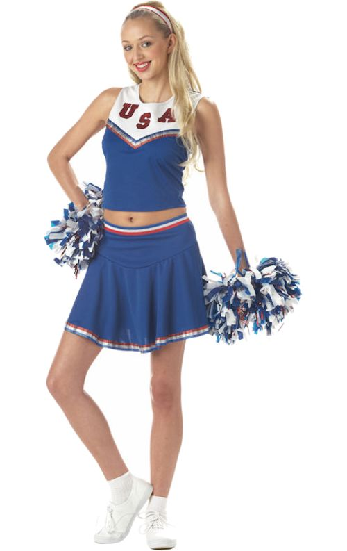Best 25 Cheerleader Costume Ideas On Pinterest  Cheerleader Halloween Costume, Cheerleader Halloween And Diy Creepy Doll Outfit-6230