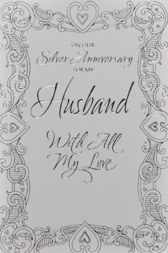 25th Anniversary Husband