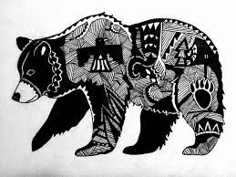 Image result for native american tribal bear tattoos