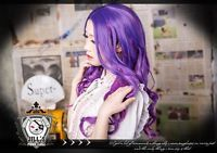Remember Majo no Joken? There was a witch/sorceress with purple hair. What would you do with purple hair? #wigs #anime #cosplay