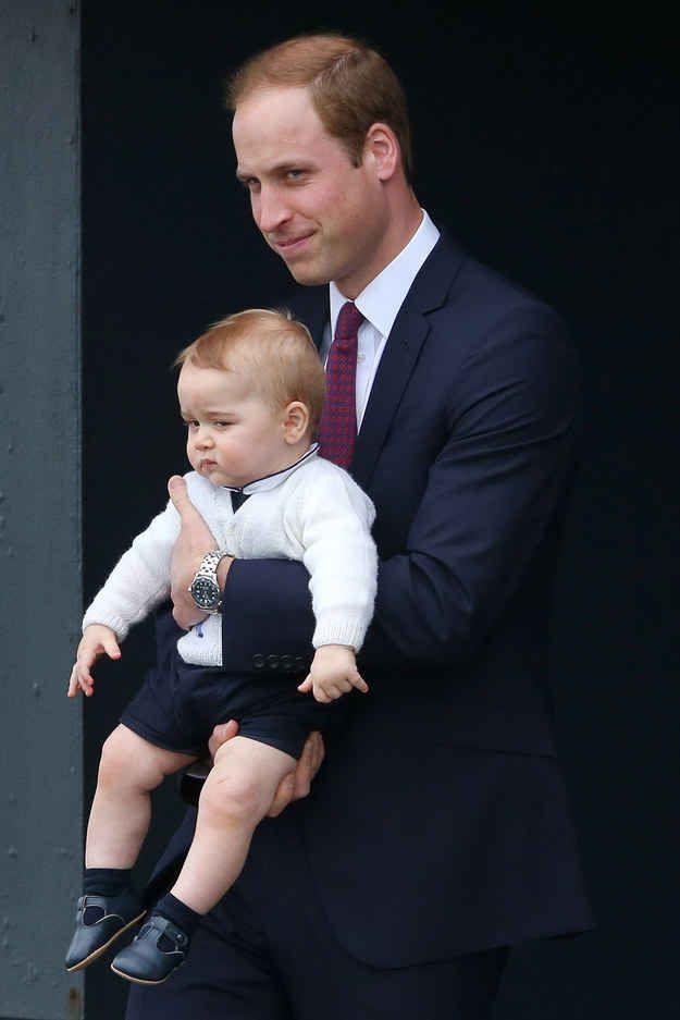 More peasants?? Uh where's my bilby?. | The Official Ranking Of Prince George's Best Facial Expressions