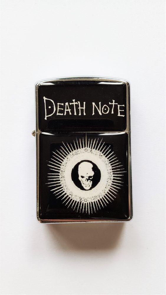 Death Note Anime Black Lighter Torch Lighter Gift For Friends