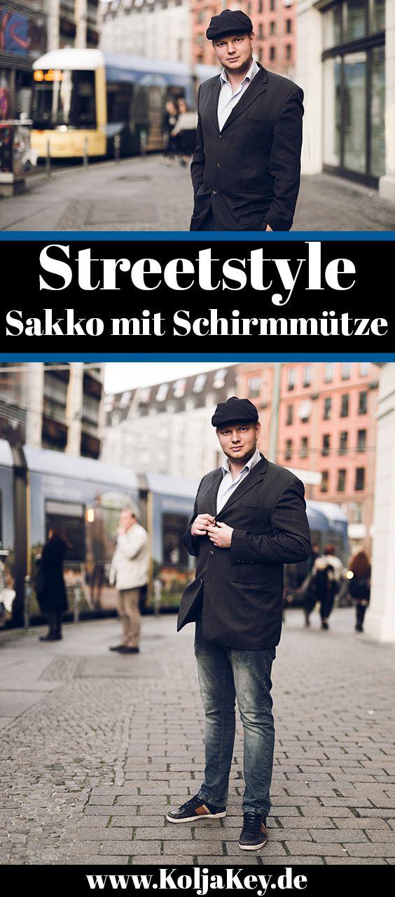 Klassisch Eleganter Männer Look. Sakko, Jeans und hellblaues Hemd kombiniert mit einer styleischen Schirmmütze. Den gesamten Look gibts auf dem Blog: http://koljakey.de