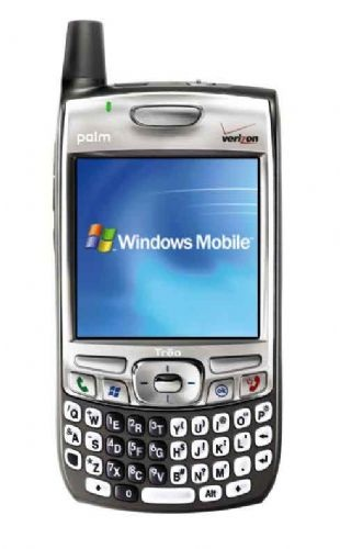 Palm Treo 700w, made the switch to Windows Mobile.