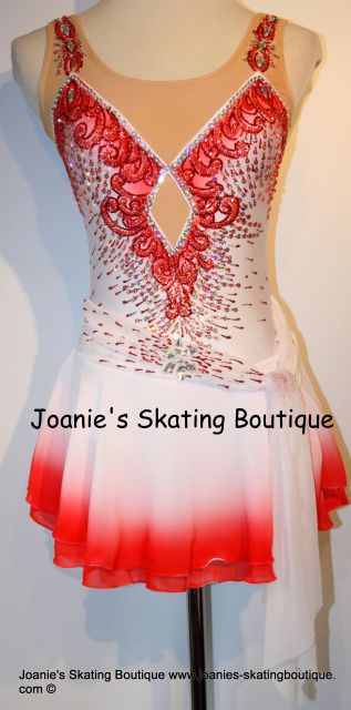Joanie's Figure Skating Boutique of Newfoundland, Canada-Figure Skating Dresses, Custom Skating Dress, Skating Skirts, Skating Apparel. Dance. Baton. Leotard.