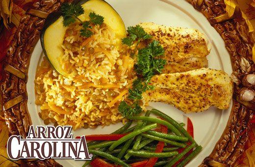 """Trae los colores y los sabores del otoño a tu mesa, preparando un delicioso """"Arroz Pilaf de Otoño"""" con nuestro Arroz Integral Carolina®"""