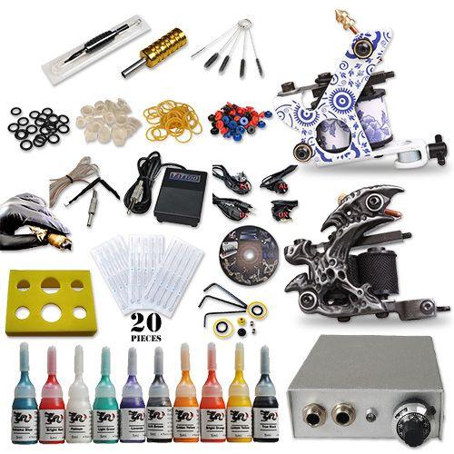 Best Tattoo Kits 10 Tattoo Ink New Style Machine [DIY-244(1.5 USO)] - US$50.59 : Dragonhawk tattoo supplies, tattoo kits,tattoo machines for sale global form tattoodiy.com