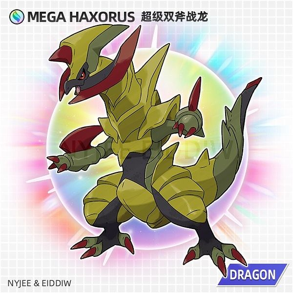 46+ Haxorus mega information
