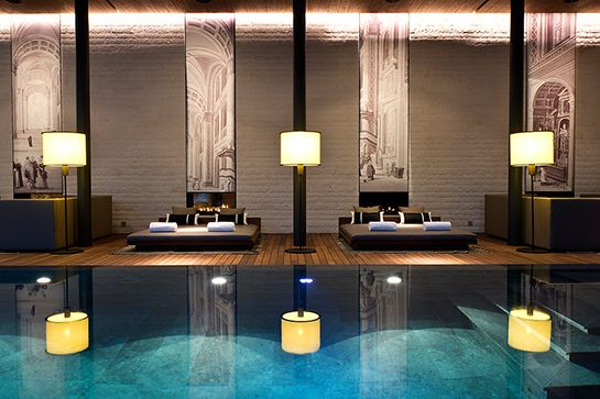 The Best Hotels In The World — Get Packing! #refinery29  http://www.refinery29.com/best-new-hotels#slide2  The Chedi; Andermatt, Switzerland.