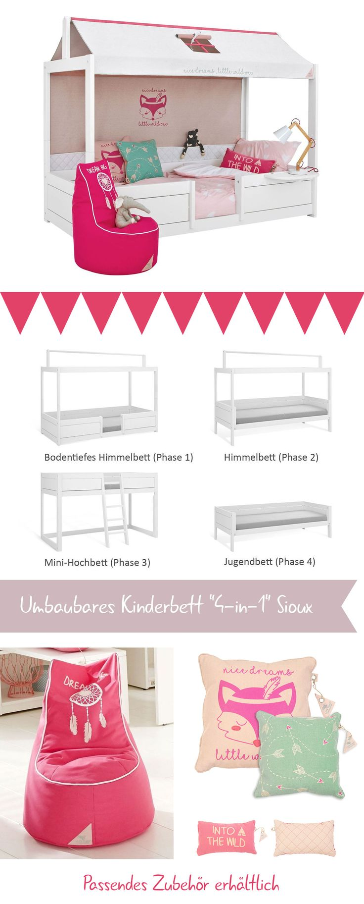 die besten 25 kinderbett 90x200 ideen auf pinterest bett 90x200 babyzimmer massivholz und. Black Bedroom Furniture Sets. Home Design Ideas