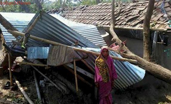 West Bengal: Two dead in cyclonic storm in Malda