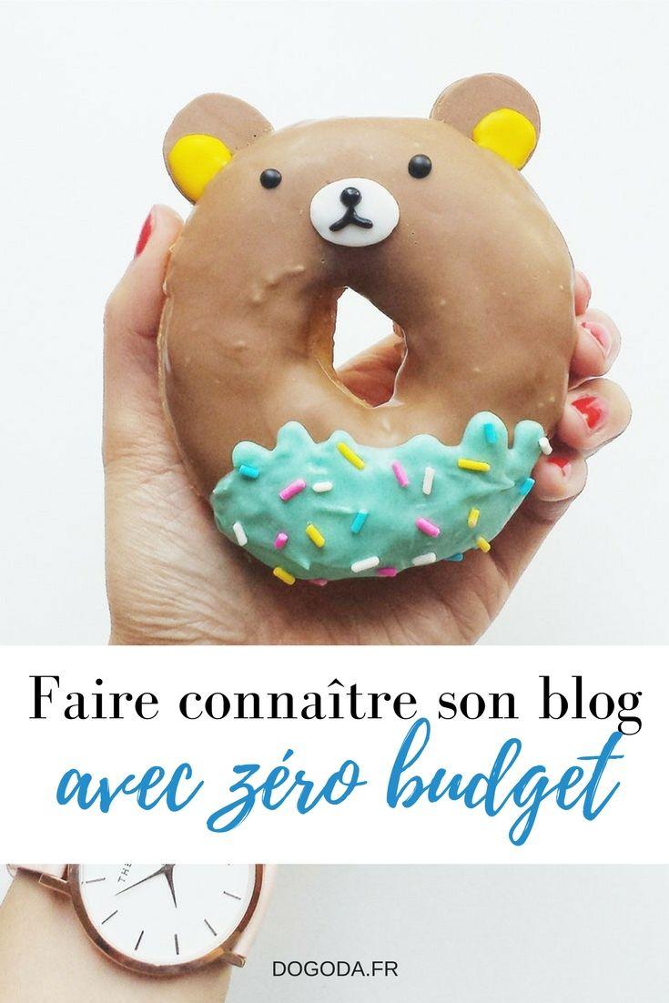Faire connaître son blog avec zéro budget