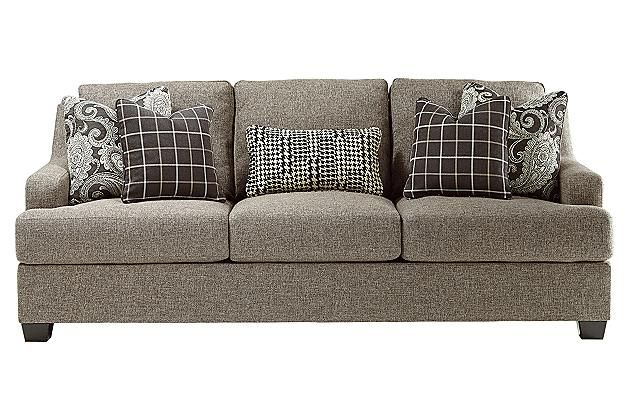 Charcoal Gypsum Sofa Ashley Furniture Negotiated 875