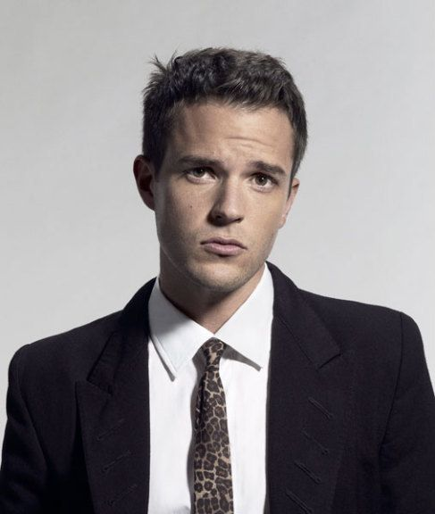 brandon flowers of the killers! (i actually repinned this from someone, meaning there are victims on pinterest! woo!)