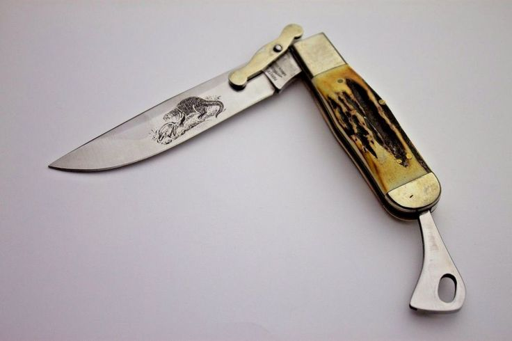#Parker #Cut Co. #Game #Getter' #Folding #Knife #Stage #NORESERVE