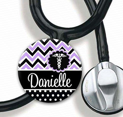 Stethoscope Tag - Purple Chevron Caduceus - Personalized ... https://www.amazon.com/dp/B014MRGRHQ/ref=cm_sw_r_pi_dp_T8JNxbAG8NS7J