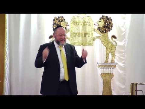 CHIEF RABBI lecture at Hendon Synagogue