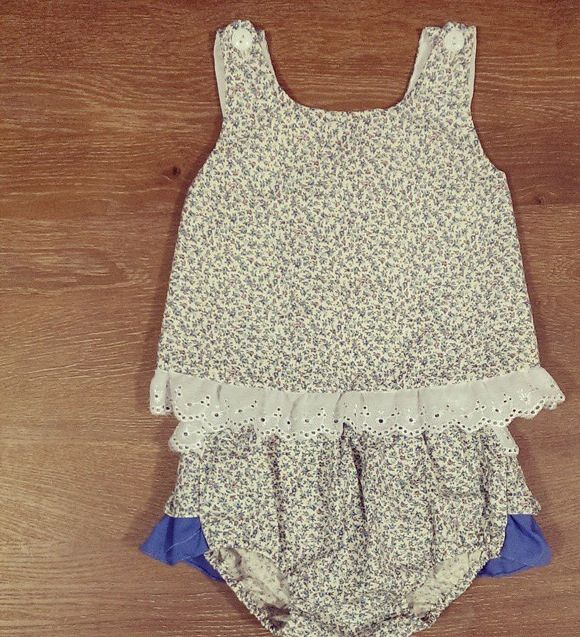 Zaylie_Co's Gorgeous blue floral print outfit  perfect for summer
