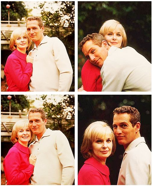 """Paul Newman & Joanne Woodward: on his lifelong fidelity to his wife, """"Why go out for hamburger when I have steak at home?"""""""
