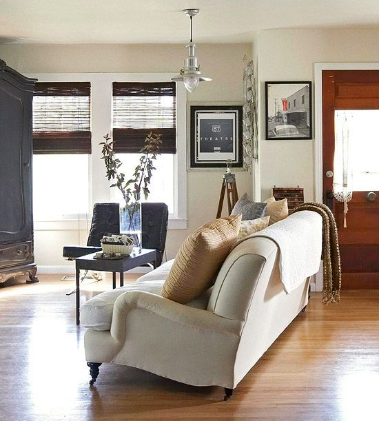 Wax is used to seal and protect beautiful hardwood flooring.