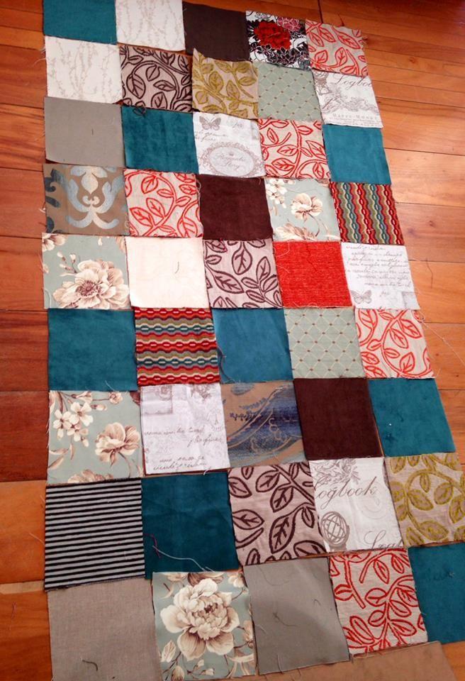 Cofeccionamos patchwork para tapizar con estilos - Telas tapizar sofas ...
