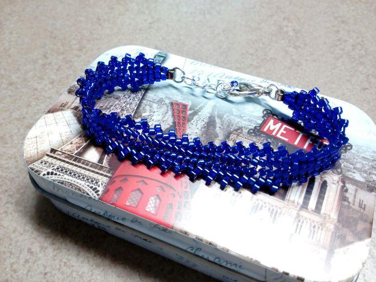 #294 Βραχιόλι με χάντρες/ Seed bead bracelet