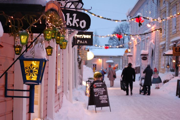 Porvoon joulu, Christmas in Porvoo <3