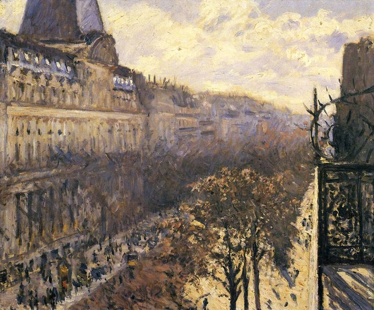 Gustave Caillebotte - Boulevard des Italiens, 1880