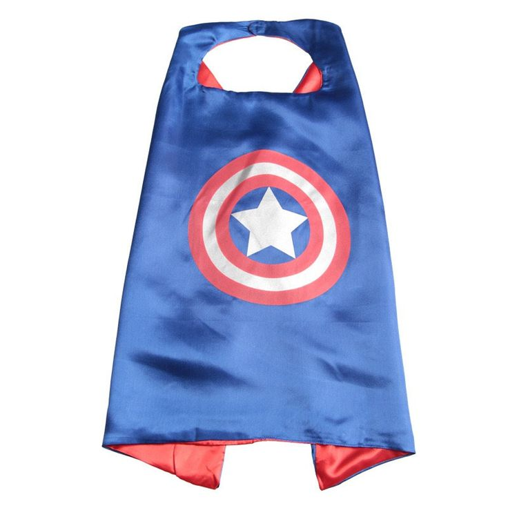 Captain America Cape & Mask Set. Superhero Cape. Kids Party Favors. by LilPartyTreasures on Etsy