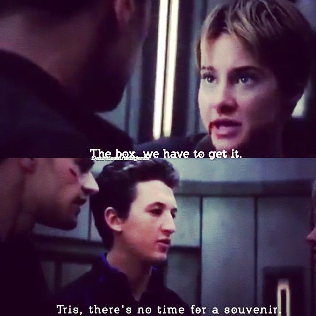 Peter you are so funny! #insurgent