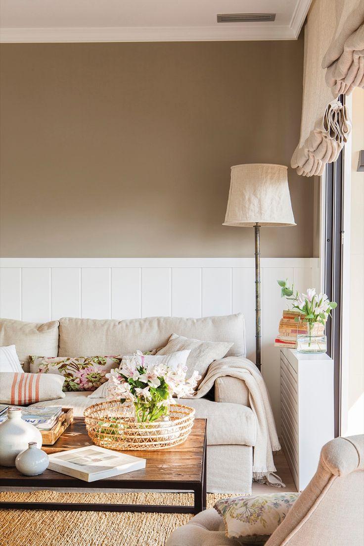 M s de 25 ideas incre bles sobre paredes de colores - Muebles naturales para pintar ...