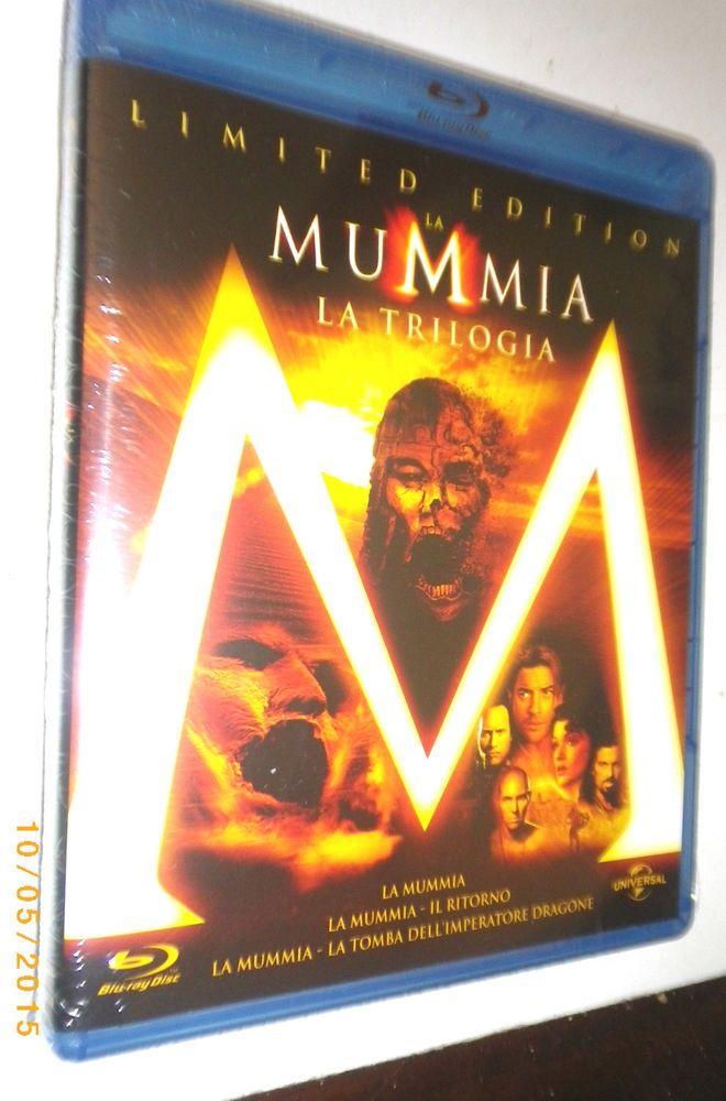 LA MUMMIA La trilogia cofanetto Limited Edition blu ray