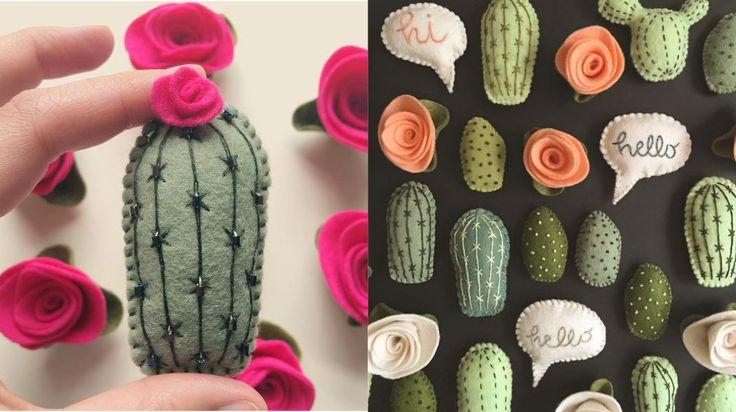 Zo af en toe stuit je op een Instagram account waar je maar blijft scrollen om meer foto's te bekijken. Zo kwam ik vandaag terecht bij Luna Beehive. En als cactus-fanaat (lees: mijn hele huis staat vol met cactussen) werd ik enorm vrolijk van al haar fijne Instagram plaatjes. Ze maakt van vilt de mooiste en schattigste cactussen en bloemen. Inspirerend om te zien. Ook leuk: ze maakt er magneetjes van. Zo word je koelkast een stuk vrolijker. Ik ga vanavond mijn restjes vilt maar eens uit de…
