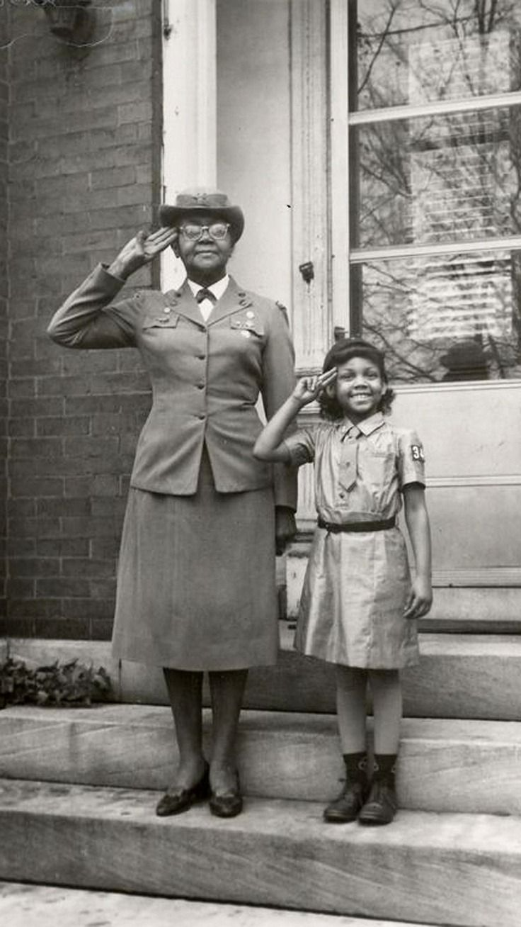 FAMOUS GIRLS SCOUTS WHO HAVE MADE A DIFFERENCE—Josephine Holloway - 1st African-American Troop Leader and lobbied for African-Americans to be allowed to be involved in Girl Scouts