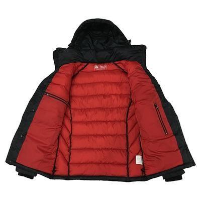 6a1817068a87 2019 New Winter Jacket Men Polyester Padded Jackets Puffer Jacket Bio-based  Cotton Hooded Warm Winter Coat Men Russian Size