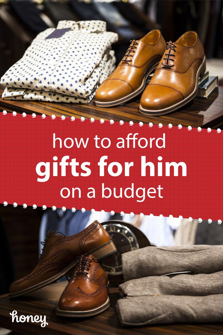 How you can afford a gift for him on a budget! Honey automatically finds and applies the best discounts to everything you buy online.