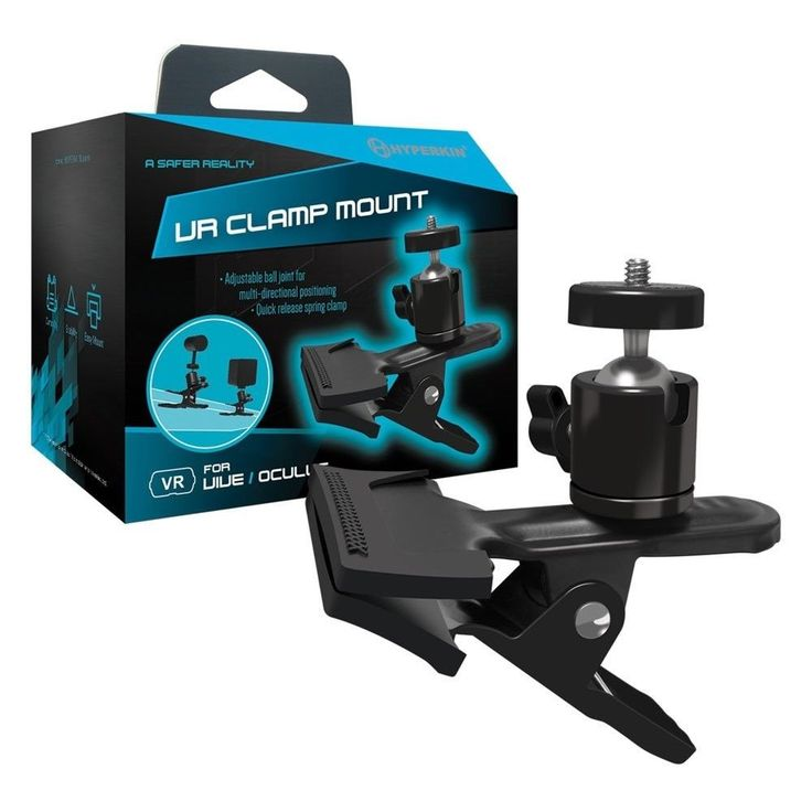 New Hyperkin HTC Vive/Oculus Rift PC Vive Oculus Virtual Reality VR Clamp Mount #Hyperkin