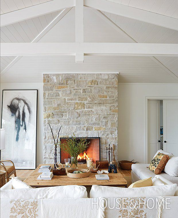 36 Breezy Beach Inspired Diy Home Decorating Ideas: Best 25+ Cottage Fireplace Ideas On Pinterest