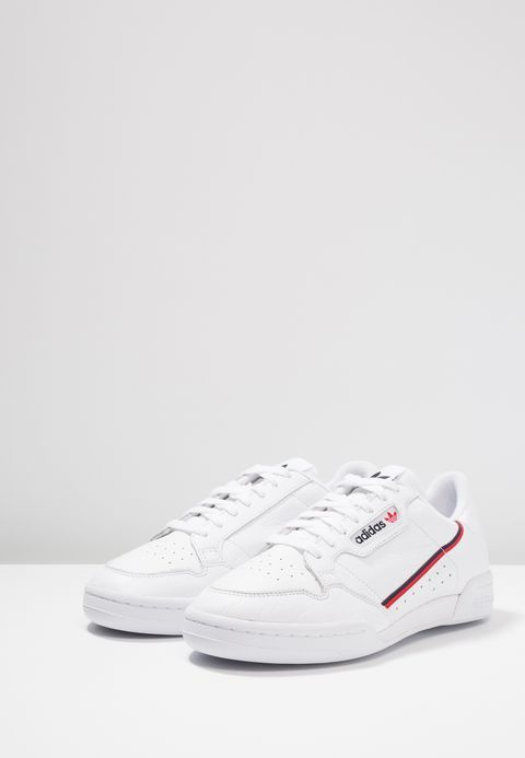 CONTINENTAL 80 - Baskets basses - footwear white/scarlet ...