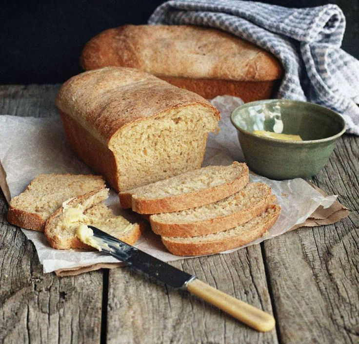 Wholemeal Bread with Rye and Wheat Germ from http://milk-and.blogspot.com/